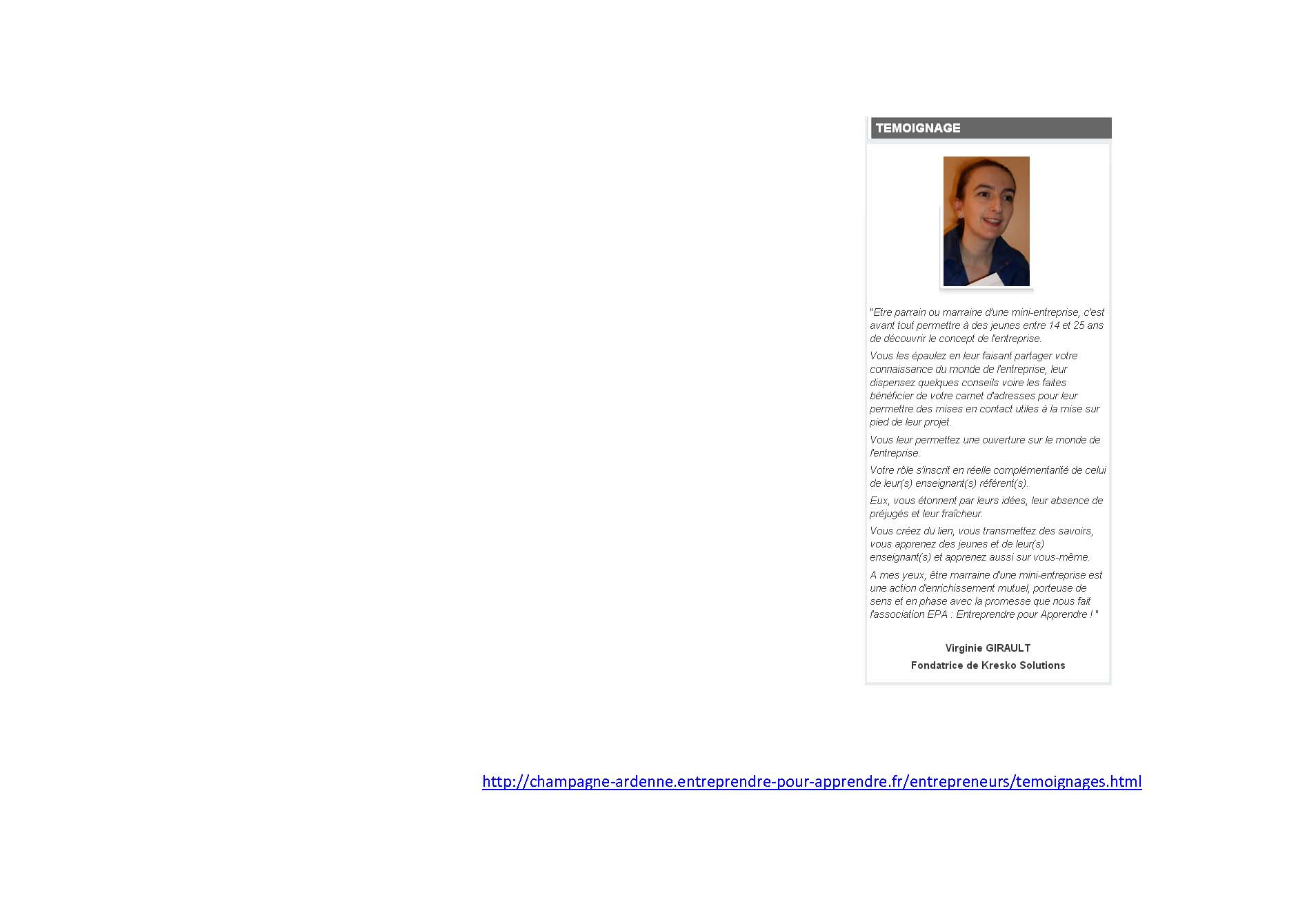 Témoignage Virginie Girault, Kresko Solutions,  pour EPA